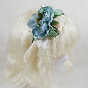 Atelier Yan - Calantha II Headband - Blue Flower